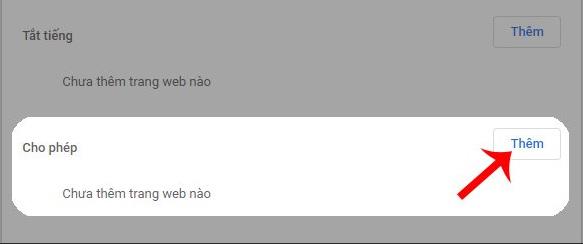 Bật/tắt âm thanh Google Chrome