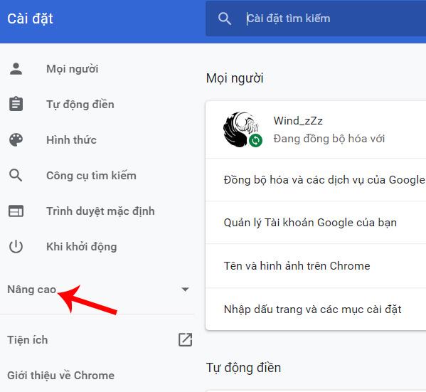 Quét virus trên Chrome
