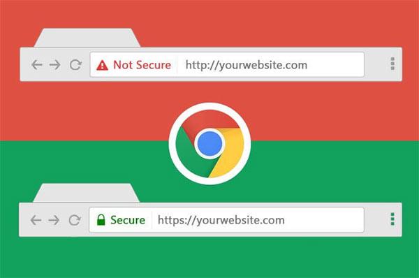 Lỗi SSL Google Chrome