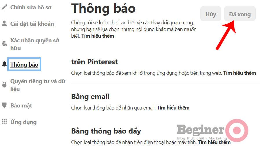 Hướng dẫn cách sử dụng Pinterest