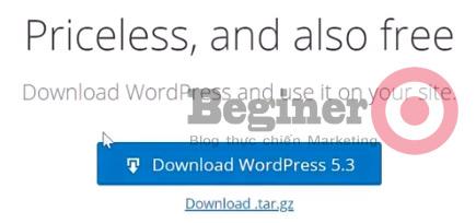 cách cài đặt WordPress trên Cpanel 1