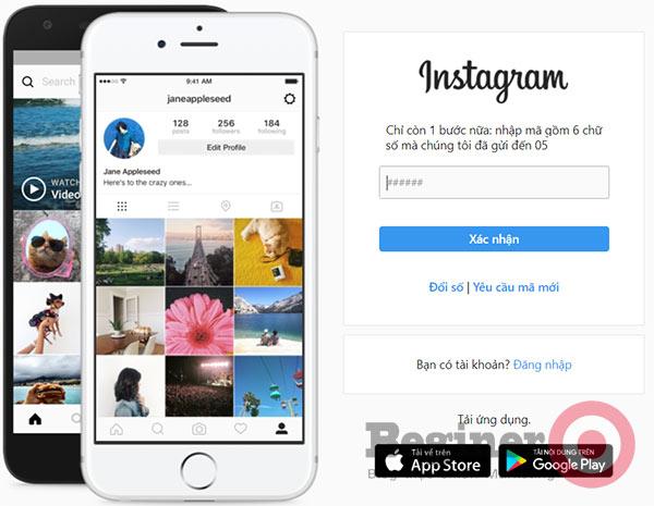 Cách lập tài khoản Instagram