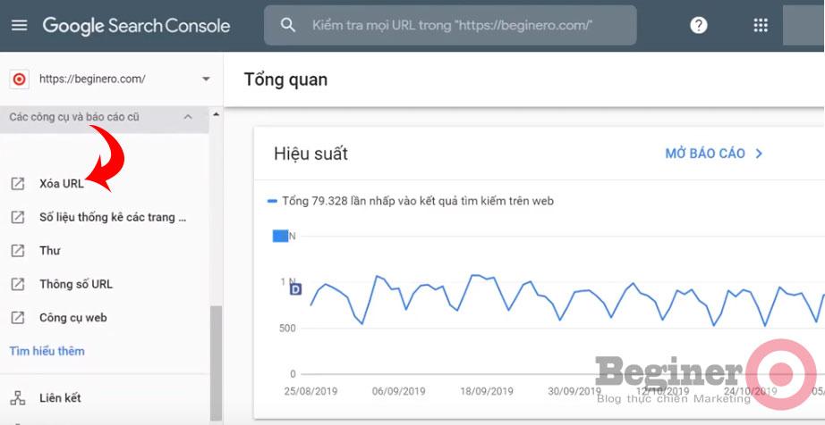 Hướng dẫn cách xóa URL trên Google đơn giản