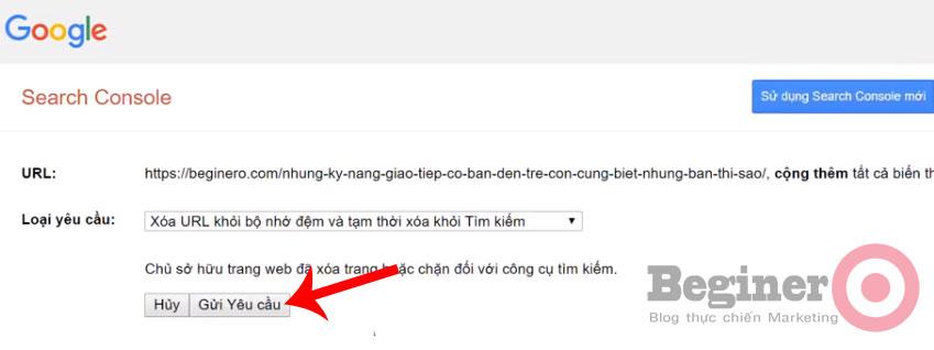 Hướng dẫn cách xóa URL trên Google dễ nhất